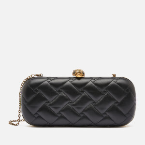 Kurt Geiger London Women's Kensington Oval Clutch - Black