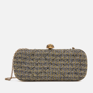 Kurt Geiger London Women's Kensington Oval Clutch - Gold Comb