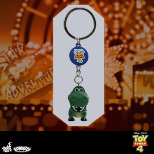 Hot Toys Cosbaby Toy Story Rex Keychain