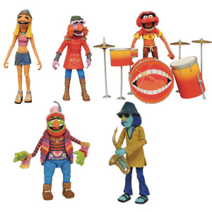 Diamond Select Muppets Deluxe Band Members Action Figure Box Set - SDCC Exclusive