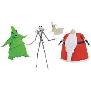 Diamond Select Nightmare Before Christmas Deluxe Lighted Action Figure Box Set - SDCC Exclusive