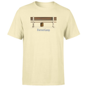 Forrest Gump Run Forrest Run! Men's T-Shirt - White Vintage Wash