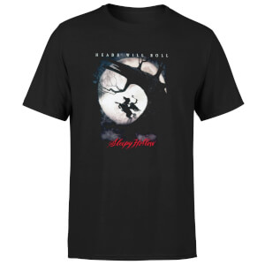 Sleepy Hollow Heads Will Roll Men's T-Shirt - Black