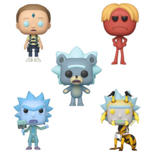 Rick and Morty Season 4 Funko Pop Vinyl - Funko Pop! Collection