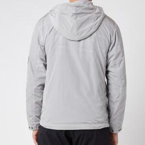C.P. Company Men's Half Zip Hooded Jacket - Quite Grey