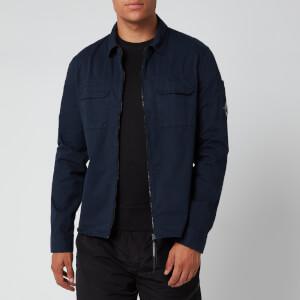 C.P. Company Men's Zip Shirt Jacket - Total Eclipse