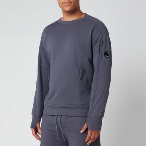 C.P. Company Men's Front Zip Pocket Sweatshirt - Ombre Blue