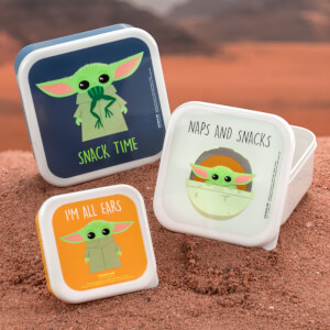 The Child Snack Boxes - Set of 3