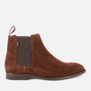 PS Paul Smith Men's Gerald Suede Chelsea Boots - Chocolate