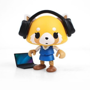 Aggretsuko Office Action Vinyl Figure