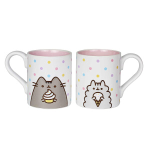 Pusheen the Cat and Stormy the Cat Mug Set