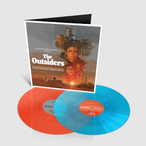 Silva Screen The Outsiders (Original Motion Picture Soundtrack) 2 Colour LP