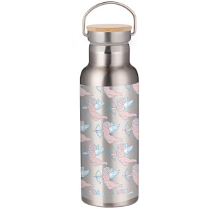 Demi Donnelly Cherubs Portable Insulated Water Bottle - Steel