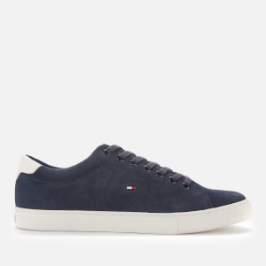 Tommy Hilfiger Men's Suede Vulcanised Trainers - Desert Sky