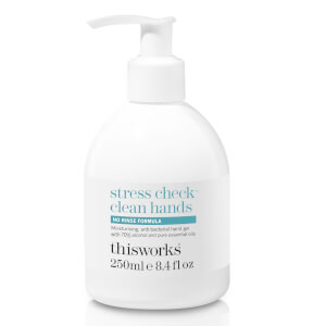 this works Stress Check Clean Hands Gel 250ml