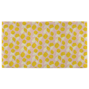 Hand Towels Lemon Pattern Hand Towel