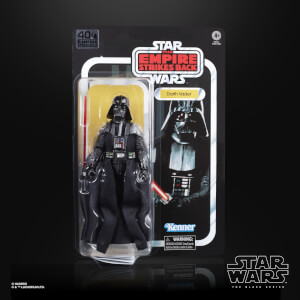 Action Figure Darth Vader - Hasbro The Black Series Star Wars 40° Anniversario L'Impero colpisce ancora