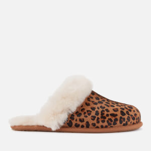 UGG Women's Scuffette Ii Leopard Slippers - Natural