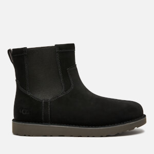 UGG Men's Campout Suede Chelsea Boots - Black