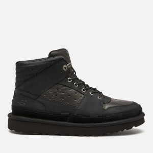 UGG Men's Highland Sport Hiker Mid Leather Trainers - Black