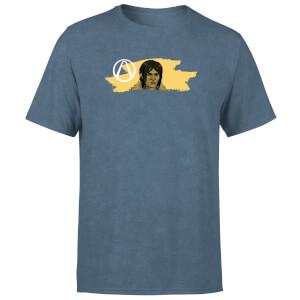 Borderlands 3 Juno Paintbrush Unisex T-Shirt - Navy Acid Wash