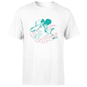 Borderlands 3 Rose Lineart Men's T-Shirt - White