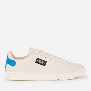 Superdry Men's Vintage Tennis Trainers - Off White/Cobalt