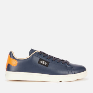 Superdry Men's Vintage Tennis Trainers - Navy/Orange