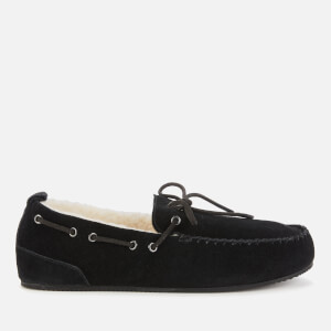 Superdry Men's Mocassin Slippers - Black