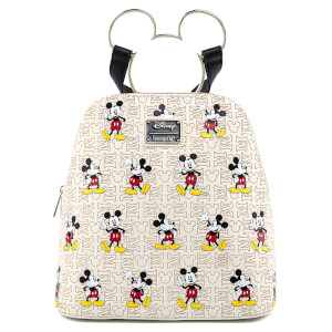 Loungefly Disney Mickey Mouse Hardware Aop Backpack
