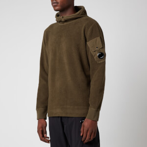 C.P. Company Men's Hooded Sweatshirt - Ivy Green