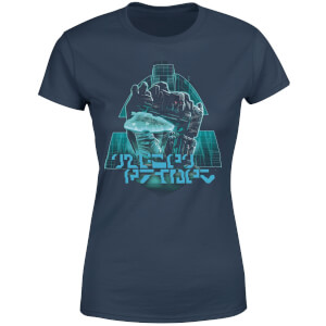 Transformers Megatrons Rage Women's T-Shirt - Navy