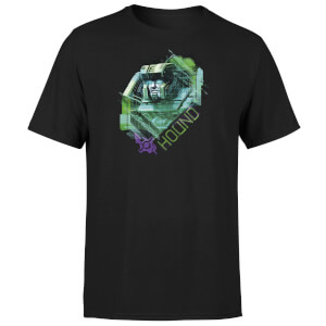 Transformers Hound Glitch Unisex T-Shirt - Black