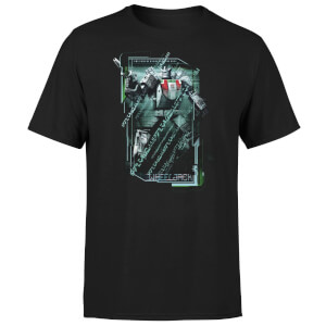 T-shirt Transformers Wheeljack Tech - Noir - Unisexe