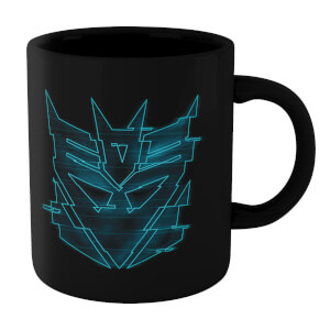 Tazza Transformers Decepticon Glitch - Nero