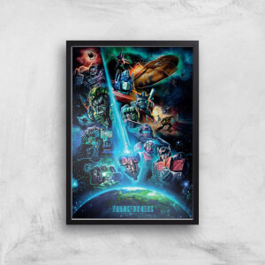 Poster Fine Art Transformers Earthrise A2