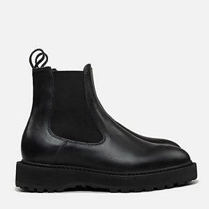 Diemme Women's Alberone Leather Chelsea Boots - Black