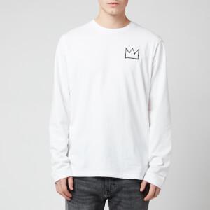 Coach Men's Basquiat Long Sleeve T-Shirt - White