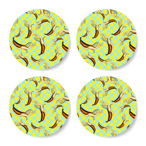 Ikiiki El Banana Coaster Set