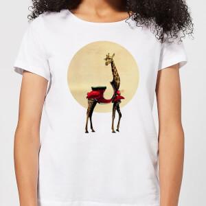 Ikiiki Giraffe Women's T-Shirt - White