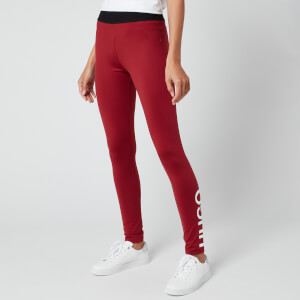 HUGO Women's Delessie Leggings - Open Red