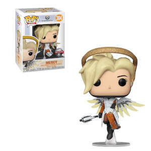 Blizzard 30th BlizCon Overwatch Diamond Glitter Mercy EXC Pop! Vinyl Figure