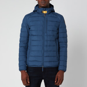 Parajumpers Men's Last Minute Hooded Super Light Down Jacket - Sargassa Sea