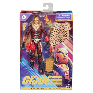 Figura de acción Profit Director Destro - G.I. Joe Classified Series