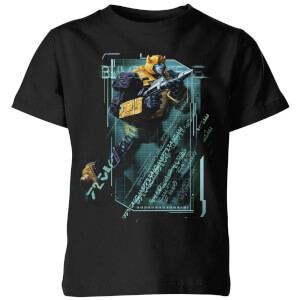 T-shirt Transformers Bumble Bee Tech - Noir - Enfants