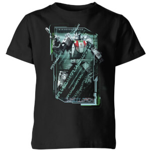 T-shirt Transformers Wheeljack Tech - Noir - Enfants