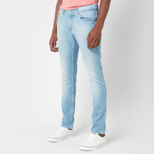 Tommy Jeans Men's Slim Scanton Jeans - Berry Light Blue