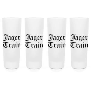 Jager Train Shot Glasses - Set of 4
