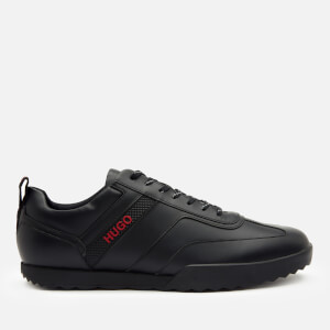 HUGO Men's Matrix Low Top Trainers - Black