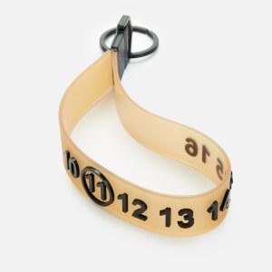 Maison Margiela Men's Number Keyring - Linen
